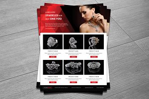 Jewelry/Product Promotion Flyer-V336