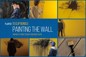 Painting the Wall: 10 Clip Bundle