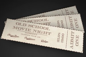 Old School movie event ticket