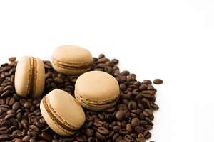 French coffee macaroons
