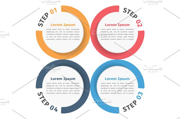 Circle Chart in Graphics - product preview 1