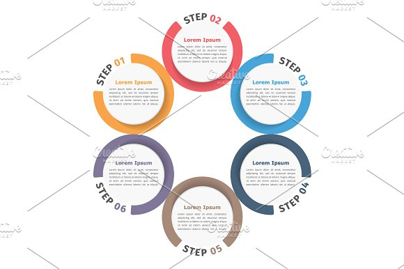 Circle Chart in Graphics - product preview 3