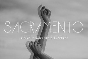Sacramento | A Simple Typeface
