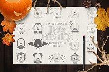 Little Feisties Halloween Vector Set