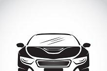 Vector image of an car design