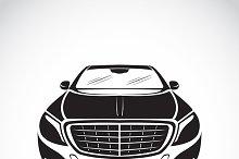 Vector image of an car design.
