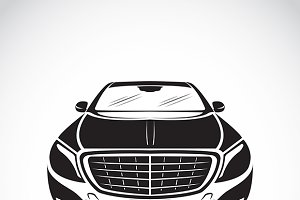 Vector image of an car design.