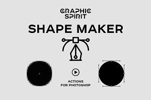 Path & Shape Maker for Photoshop