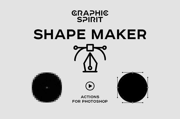 Path & Shape Maker for Phot-Graphicriver中文最全的素材分享平台