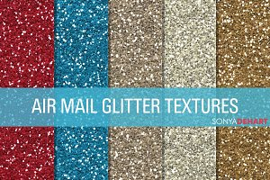 Air Mail Glitter Textures