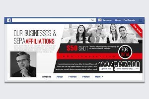 Corporate Facebook Timeline Cover