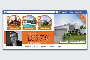 RealEstate Facebook Timeline Cover