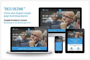 Desi Dezine Bootstrap Landing page