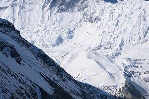 Mountain landscape in the Nepal