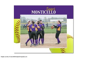 Softball Memory Mate Template - T6
