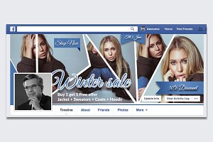 Winter Sale Facebook Timeline
