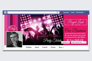 Concert Party Facebook Timeline