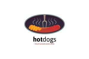 Hot Dogs Logo
