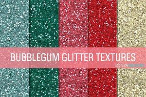 Bubblegum Glitter Textures