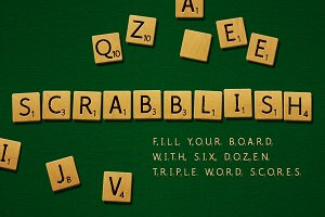 Scrabblish Game Letters