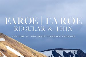 Faroe Package (Regular & Thin)