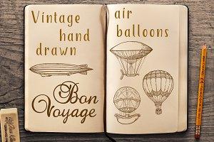 Vintage air balloons