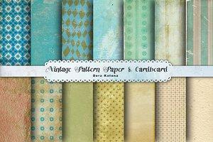 Vintage Pattern Paper & Cardboard