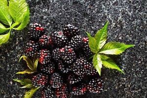 Delicious fresh ripe fruits