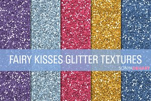 Fairy Kisses Glitter Textures