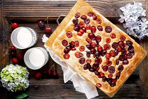 Italian sweet Bread Focaccia