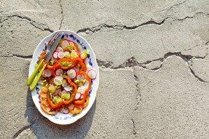 summer autumn Salad