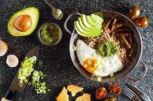Breakfast of Eggs, Avocado