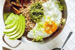Breakfast of Eggs, Avocado