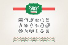 by  in School Icons