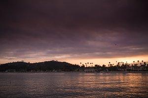 Santa Barbara Ocean Sunset