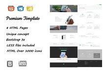 HTML5 Multipurpose Template