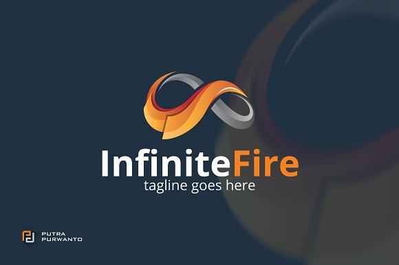 Infinite Fire - Logo Template