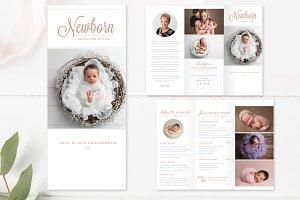 Newborn Trifold Brochure Flyer