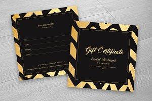 Photographer Gift Certificate-V12