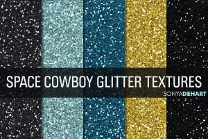 Space Cowboy Glitter Textures