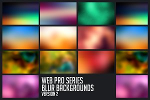 Web Blur Backgrounds (10 in 1)
