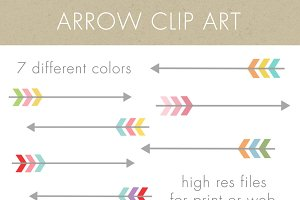 Arrow Clip Art - arrows