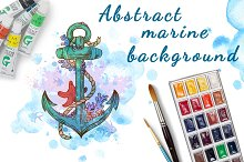 Abstract marine background