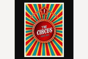 Vector Circus Poster