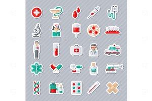 Medicine stickers