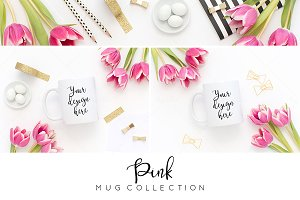 Coffee mug styled stock BUNDLE