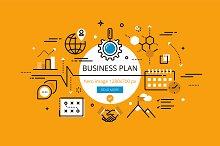 Business Plan hero banners
