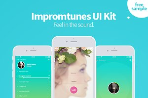 Impromtunes | Music UI Kit