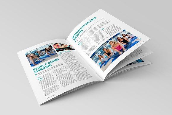 Indesign magazine template magazine templates creative market pronofoot35fo Gallery