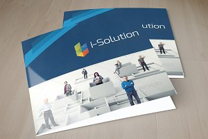Multi Use Business Square Trifold